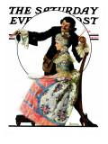 """""Silhouette Maker"""" Saturday Evening Post Cover, September 24,1927"
