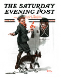 """""Three's Company"""" Saturday Evening Post Cover, June 19,1920"