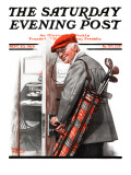 """""""""""Important Business"""""""" Saturday Evening Post Cover, September 20,1919"""
