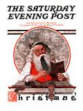 """""Santa's Expenses"""" Saturday Evening Post Cover, December 4,1920"