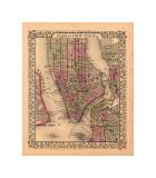 Plan of New York City, c.1867