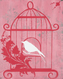 Pink Cage I
