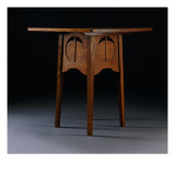 Card Table Designed for the Argyle Street Tea Rooms, Glasgow, 1888-89