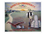 Election Poster Depicting Theodore Roosevelt as the 'Apostle of Prosperity', 1903