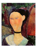 Woman with a Velvet Neckband, C.1915
