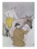 The Jockey Led to the Start