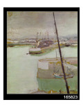 The Port of Honfleur, 1919