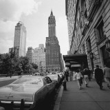 Buildings and Street, New York City
