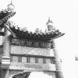 Temple Pagoda, Low Angle View