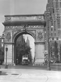 Triumphal Arch on Washington Square Park, New York