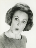 Woman With Surprised Expression, Posing in Studio