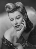 Glamorous Woman Posing, Portrait