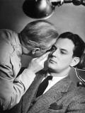 Doctor Examining Patient's Eyes