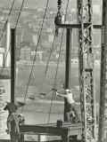 Men Working on Building Frame