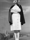 Nurse Standing With Arms Folded