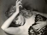 Woman Posing in Lingerie