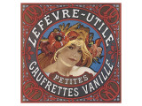 Lefevre-Utile Petites Gaufrettes Vanille