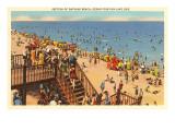 Beach, Cedar Point-on-the-Lake, Ohio