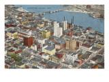 View over Toledo, Ohio
