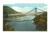 Bridge over Hudson River, New York