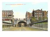 Arch on Montague Street, Brooklyn, New York City