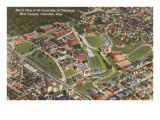 Aerial View of University of Cincinnati, Ohio