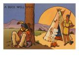 A Buck Well Spent, Indian Cartoon