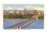 Bridge over Susquehanna, Harrisburg, Pennsylvania
