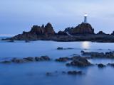 Corbiere Lighthouse at Dusk, Jersey, Channel Islands, UK