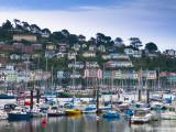 UK, Devon, Kingswear from Dartmouth, River Dart