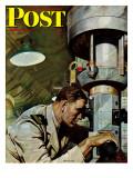 """""Up Periscope!,"""" Saturday Evening Post Cover, April 22, 1944"