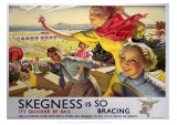 Skegness, Travel by Rail