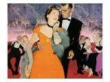 "Second Elopement  - Saturday Evening Post """"Leading Ladies"""", August 8, 1953 pg.24"