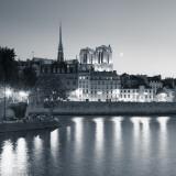 Notre Dame and Ile De La Cite, Paris, France