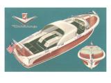 Fifties Speedboat