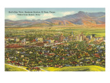 View over Business District, El Paso, Texas