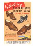 Velvet-eez Men's and Women's Shoes