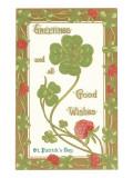 St. Patricks Day, Greetings, Etc.