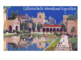 Poster for Pacific Exposition, San Diego, California