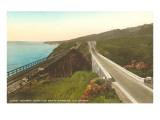 Coast Highway North of Santa Barbara, California