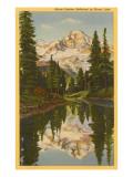Mt. Rainier from Mirror Lake, Washington
