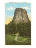 Devil's Tower, Sundance, Wyoming