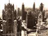 View to Grand Avenue, Chicago, 1930