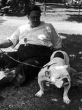 1938 Morris + Essex Dog Show. English Bulldog