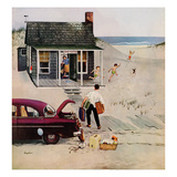 """""""""""First Day at the Beach"""""""", August 11, 1956"""