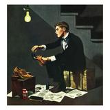 """""Brown Shoes to Black"""", November 4, 1950"