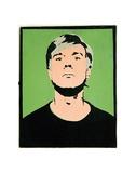 Self-Portrait, c.1964 (on green)