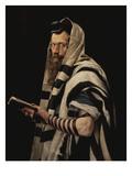 Rabbi with Tefillin