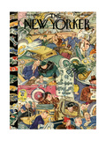 The New Yorker Cover - January 6, 1934