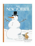 The New Yorker Cover - January 27, 1992